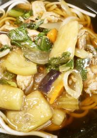 野菜たっぷり~あんかけにゅう麺♪めっけ