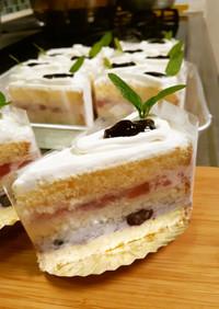 ベリーベリー♡ムース風ケーキ