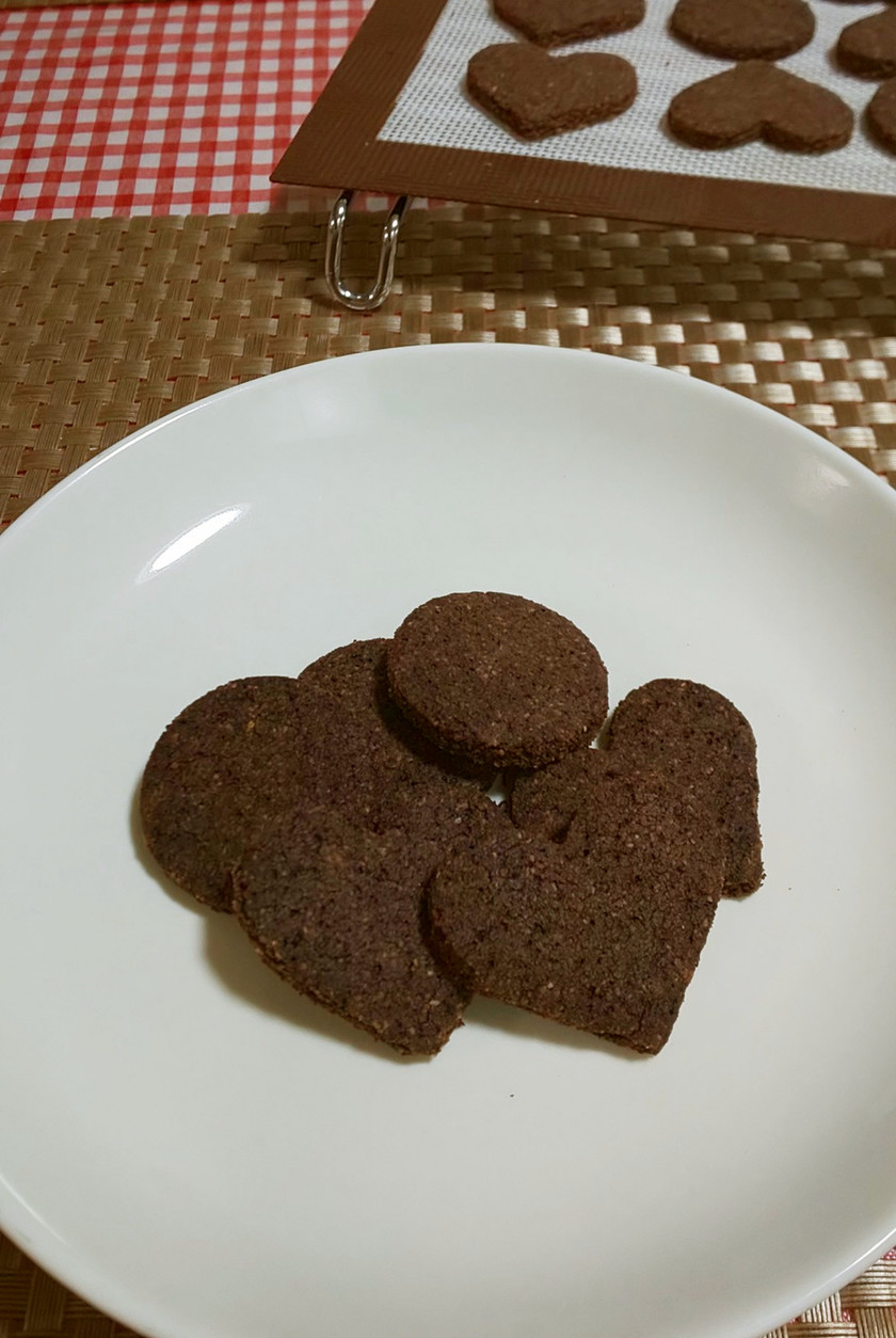 ★糖質オフ!おからの*チョコクッキー*♪