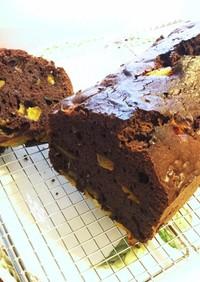 金柑のココアパウンドケーキ