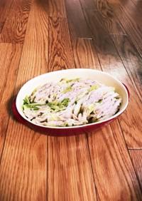 白菜と豚肉のミルフィーユ鍋!