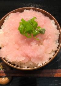 エソのタタキ丼