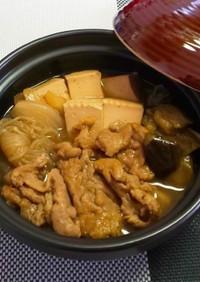 なす入り肉豆腐
