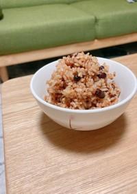 寝かせ玄米(圧力鍋)