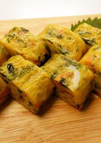 乾燥野菜入り卵焼き ~楽々菜々~