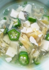 犬ご飯 タラと豆腐のスープ