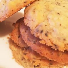 紅茶とホワイトチョコのクッキー
