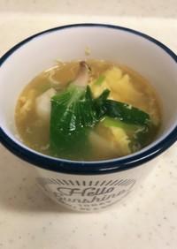簡単!中華風玉子スープ!!