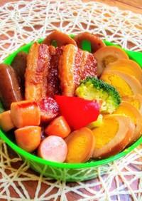 お弁当 豚の角煮ランチ