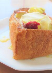 焼きいもクリームチーズ バタートースト