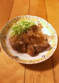 鶏もも肉の甘酢煮♪超簡単♪