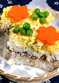 牛乳パックで簡単!鯖缶の減塩押し寿司