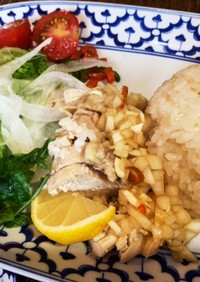 炊飯器で簡単カオマンガイ -南海鶏飯-
