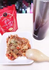 ズボラおつまみ☆さば缶とトマト缶の煮込み