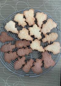 子供でも簡単!混ぜるだけの型抜きクッキー