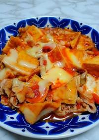 豚肉と厚揚げのトマト煮