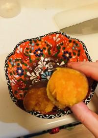 ハロウィンスイートの炊飯器焼芋