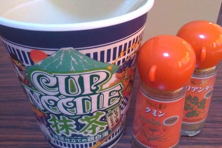 ヌードル 味 カップ 抹茶