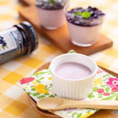 離乳食完了期ブルーベリーヨーグルトケーキ