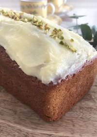 イギリス風*しっとりキャロットケーキ