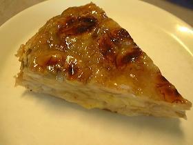 フランスパンで☆ぷにぷに新食感バナナケーキ