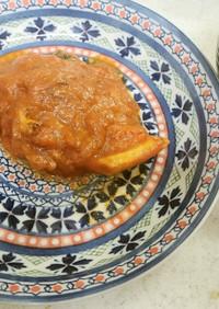 ✨鮭とトマトのチーズ焼き&彩り味噌汁✨