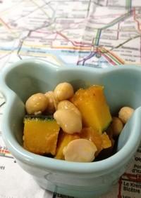 かぼちゃ大豆煮(幼児食、離乳食完了期)