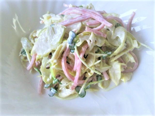 四方竹のサラダ