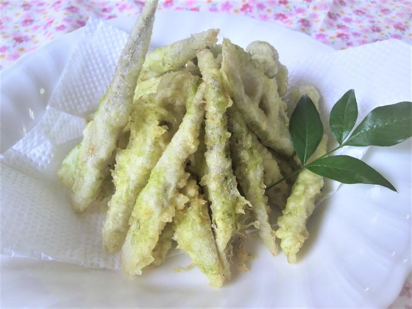 四方竹の天ぷら