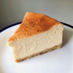 簡単!ココナッツサブレで濃厚チーズケーキ