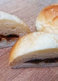 クリームチーズ味のイチジクパン