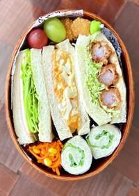 わっぱ弁当★サンドイッチ