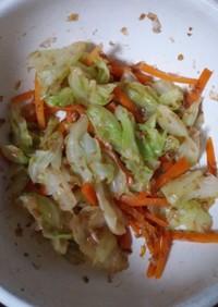 お弁当に♪簡単副菜彩り野菜のおかか和え☆