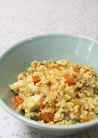 作りおき野菜煮で親子丼風(離乳食完了期)