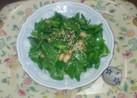 ほうれん草とサラダ豆のフレンチサラダ