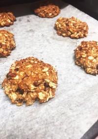 オートミール小豆プロテインクッキー