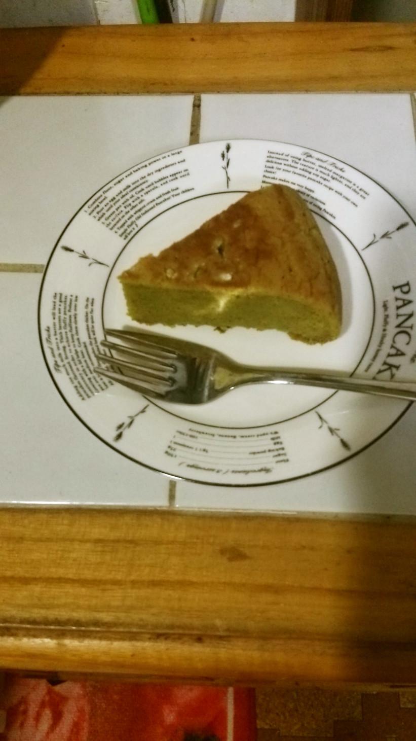 簡単!抹茶パウンドケーキ