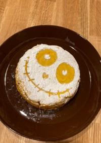ハロウィン 簡単かぼちゃのケーキ☆