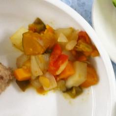 野菜のトマト煮【認可保育園の給食】