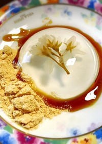 桜の水信玄餅