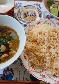 サッポロ一番偏愛レシピごましょうゆつけ麺