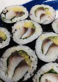 しめさばで*簡単さば寿司