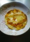 餃子の皮でパリパリミニピザ