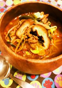 ピーリカピリカラポポリナ呪文の焼肉スープ