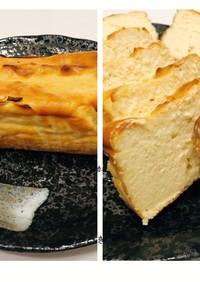 粉砂糖で小麦不要ヘルシー簡単チーズケーキ