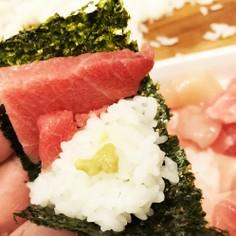 刺身端材パックで満腹速攻板メシ手巻き寿司