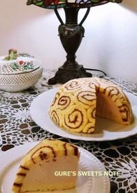 ラズベリー・チーズムースのドームケーキ