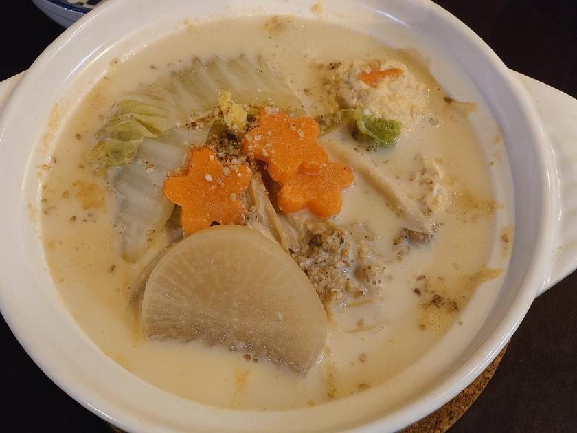 胡麻豆乳鍋☆