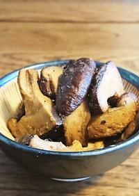 甘口醤油◎椎茸のバター醤油◎九州醤油