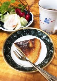 ☆フライパンで☆とろけるバナナパンケーキ